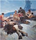 1984年5月《矿工与太阳》入选第六届全国美展